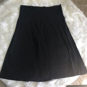 Two Athleta skirts size medium blk/brn